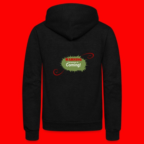 Christmas_is_Coming - Unisex Fleece Zip Hoodie