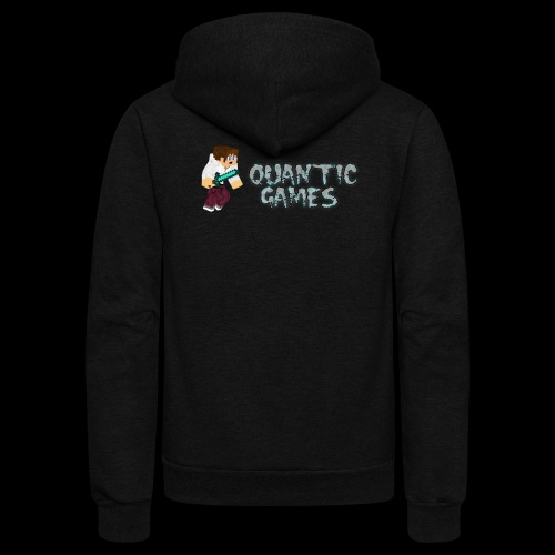 Quantic_GamesYT - Unisex Fleece Zip Hoodie