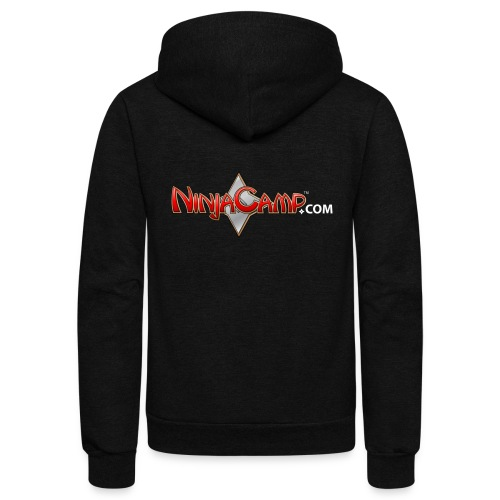 NC Logo for Dark Products - Unisex Fleece Zip Hoodie