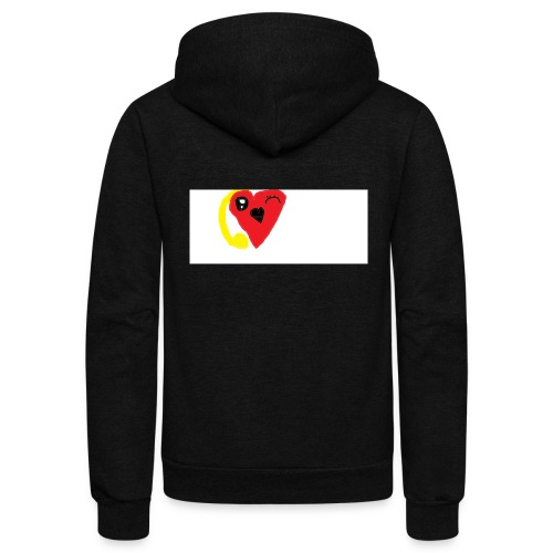 love heat - Unisex Fleece Zip Hoodie