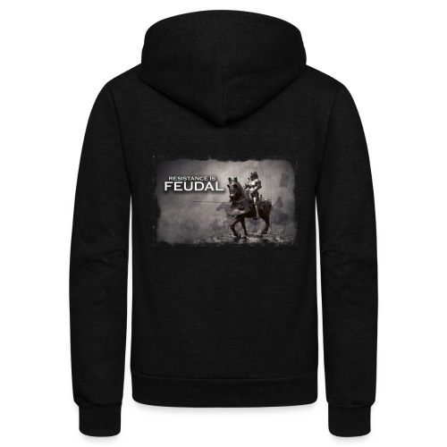 Resistance is Feudal 2 - Unisex Fleece Zip Hoodie