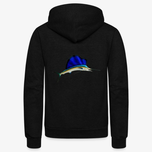 SAILFISH-01 - Unisex Fleece Zip Hoodie