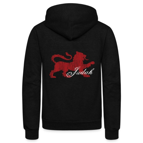 The Lion of Judah - Unisex Fleece Zip Hoodie