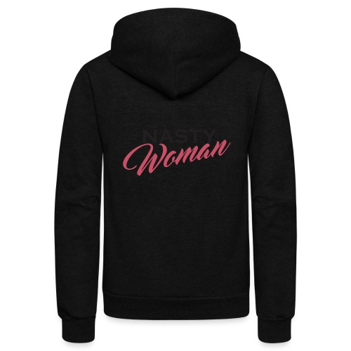 Nasty Woman Mug Persisted - Unisex Fleece Zip Hoodie