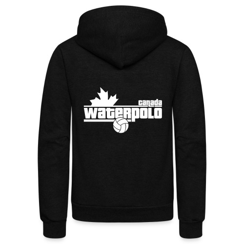 Waterpolo Canada t-shirt - Unisex Fleece Zip Hoodie