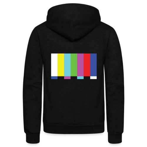 TV Test - Unisex Fleece Zip Hoodie