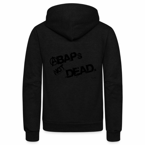 ABAPs Not Dead. - Unisex Fleece Zip Hoodie