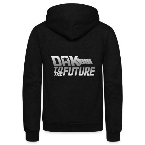 Dak To The Future - Unisex Fleece Zip Hoodie