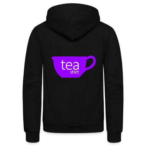 Tea Shirt Simple But Purple - Unisex Fleece Zip Hoodie
