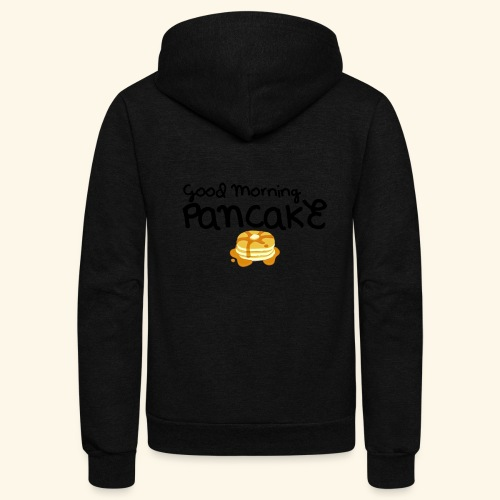 Good Morning Pancake Mug - Unisex Fleece Zip Hoodie