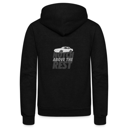 Notchabovetherest - Unisex Fleece Zip Hoodie