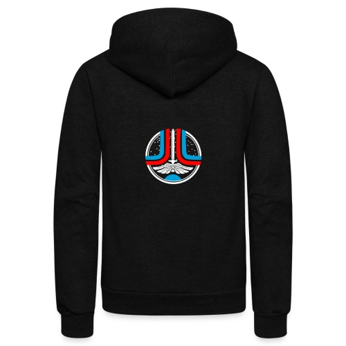 welcome starfighter - Unisex Fleece Zip Hoodie