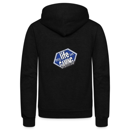 My Life In Gaming sticker - Unisex Fleece Zip Hoodie