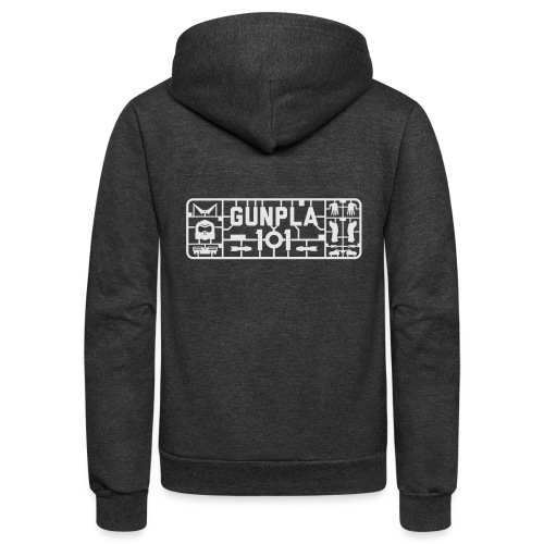 Gunpla 101 Men's T-shirt — Zeta Blue - Unisex Fleece Zip Hoodie