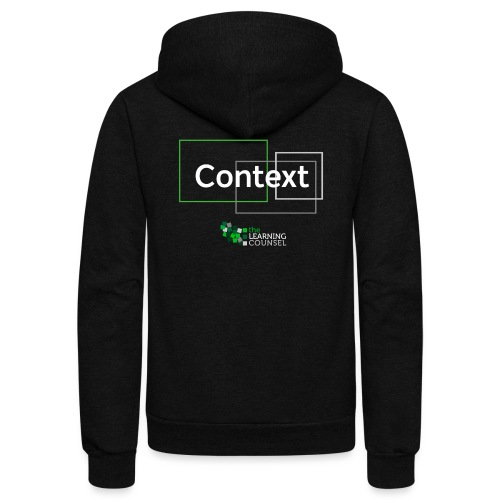 Context for the Education Shift - Unisex Fleece Zip Hoodie