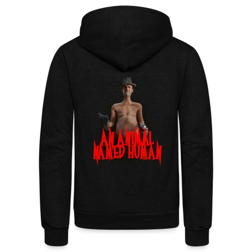 AN ANIMAL NAMED HUMAN - Unisex Fleece Zip Hoodie