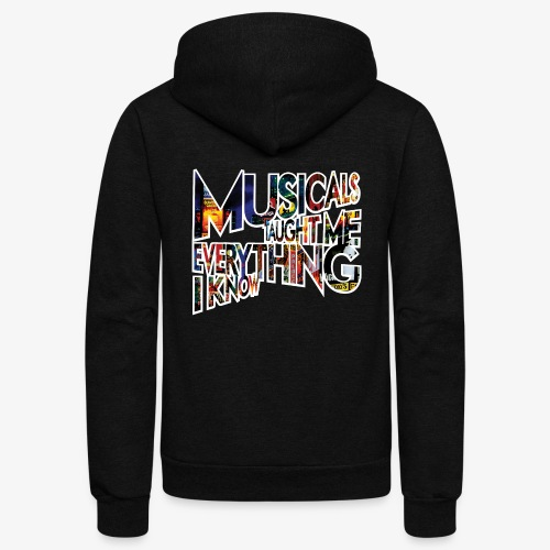 MTMEIK Broadway - Unisex Fleece Zip Hoodie