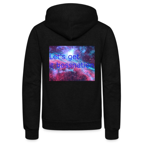 boss360 merch - Unisex Fleece Zip Hoodie