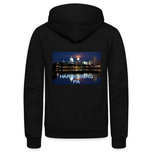 Harrisburg is home - Unisex Fleece Zip Hoodie