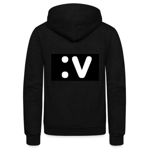 LBV side face Merch - Unisex Fleece Zip Hoodie