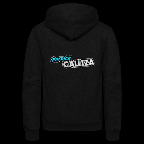 Patrick Calliza Official Logo - Unisex Fleece Zip Hoodie
