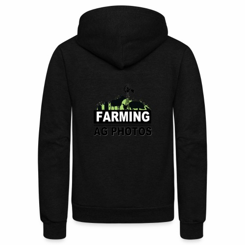 Farming Ag Photos - Unisex Fleece Zip Hoodie
