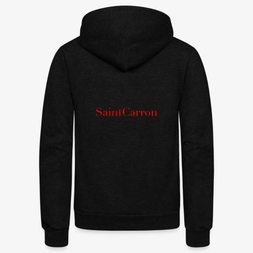 SAINT CARROn - Unisex Fleece Zip Hoodie