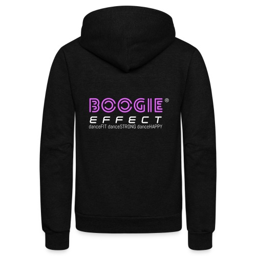 boogie effect fit strong happy logo colour - Unisex Fleece Zip Hoodie