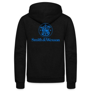 Smith & Wesson (S&W) - Unisex Fleece Zip Hoodie by American Apparel