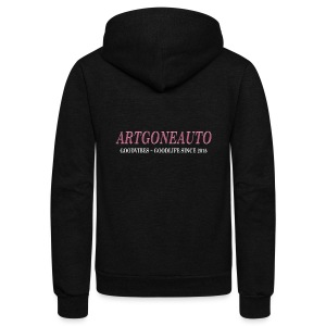 Classically Pink ARTGONEAUTO - Unisex Fleece Zip Hoodie
