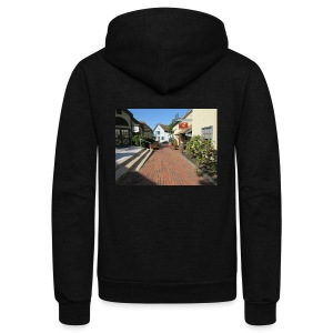 Historic Village - Unisex Fleece Zip Hoodie by American Apparel