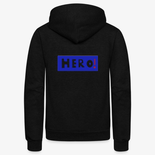 hero shirt - Unisex Fleece Zip Hoodie