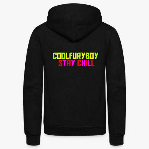 CoolFuryBoy - Unisex Fleece Zip Hoodie
