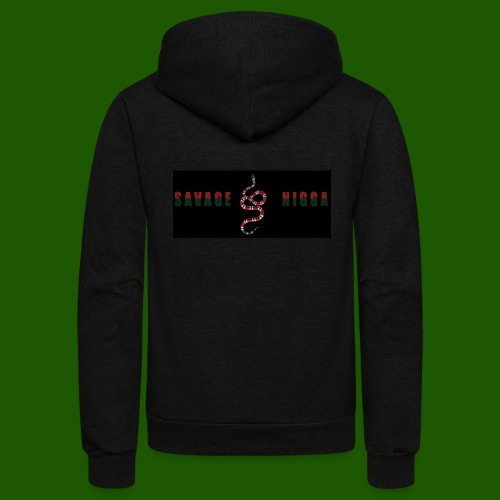 SAVAGE CLOTHING - Unisex Fleece Zip Hoodie