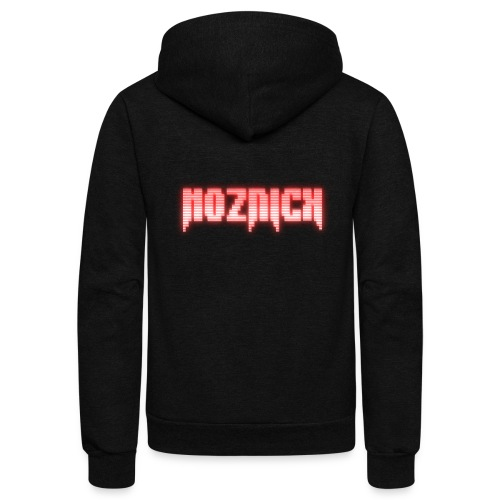 TEXT MOZNICK - Unisex Fleece Zip Hoodie