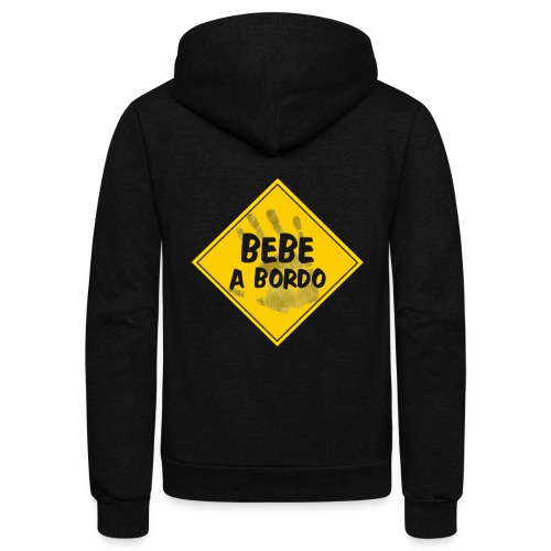 BABY ON BOARD - Unisex Fleece Zip Hoodie