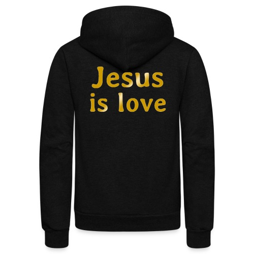 Jesus is love - Unisex Fleece Zip Hoodie