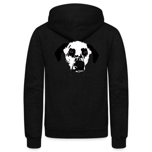 Dalmatian Mom - Unisex Fleece Zip Hoodie