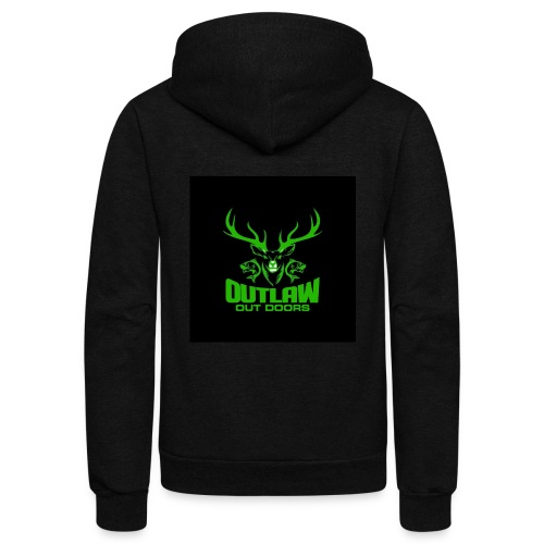 Outlaw Outdoors Logo 2 - Unisex Fleece Zip Hoodie