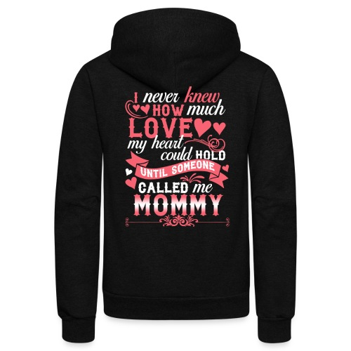 I Never Knew How Much Love My Heart Could Hold - Unisex Fleece Zip Hoodie
