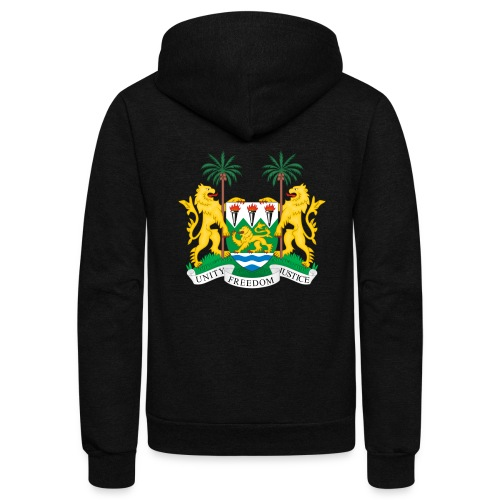 Coat of Arms SL - Unisex Fleece Zip Hoodie