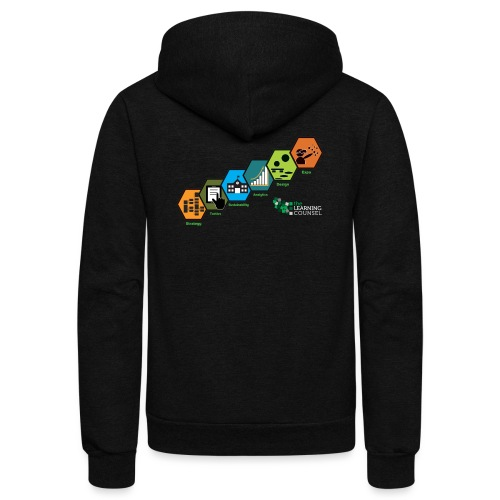 Education Transformation Continuum Scale - Unisex Fleece Zip Hoodie