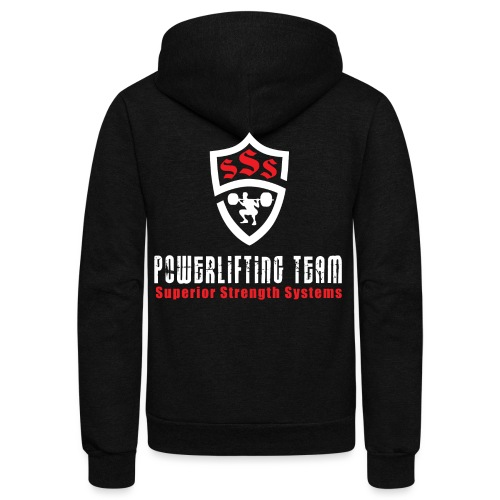 Powerlifting Team - Unisex Fleece Zip Hoodie