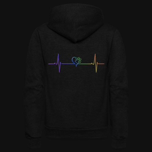 Live & Breathe Dog - Unisex Fleece Zip Hoodie