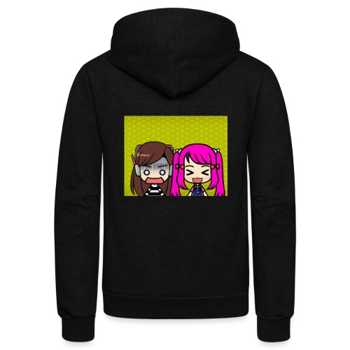 Phone case merch of jazzy and raven - Unisex Fleece Zip Hoodie