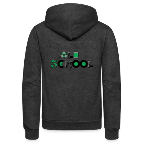 Old School Music - Unisex Fleece Zip Hoodie
