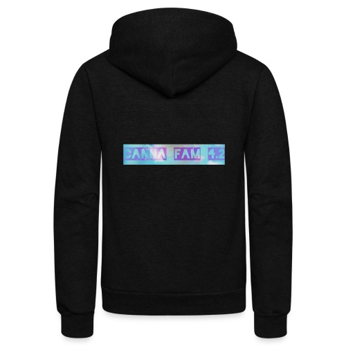 Canna fams #3 design - Unisex Fleece Zip Hoodie