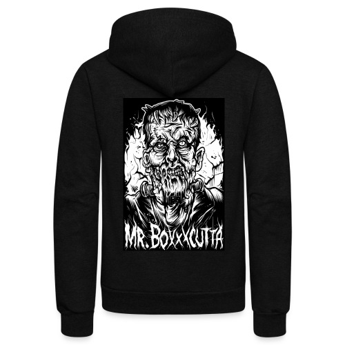 Mr. Boxxxcutta 2 - Unisex Fleece Zip Hoodie