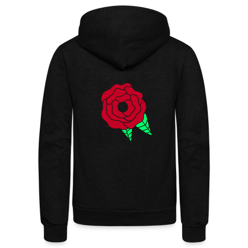 rose - Unisex Fleece Zip Hoodie