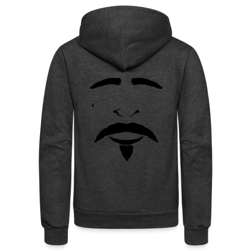 FACES_CHOLA - Unisex Fleece Zip Hoodie